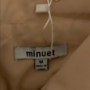Minuet Petite Dresses - Plunging cocktail dress
